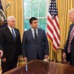 Министр иностранных дел Украины встретился с Трампом и Пенсом