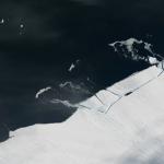 От Антарктиды откололся айсберг размером в Манхеттен (фото + видео)