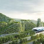В Китае построят многоэтажный город-лес