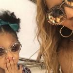 Бейонсе разрешила своей 4-летней дочке присутствовать при родах