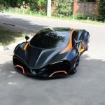 В Киеве представят эксклюзивный суперкар «Химера»
