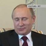 Путин считает, что геи его любят