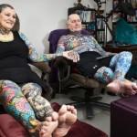 Эта американская пара – самые татуированные в мире старички