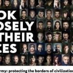 Гамбург встречает G20 бигбордами с портретами украинских воинов, воюющих с агрессором