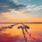 Самое соленое в Европе озеро находится в Украине