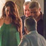 Джордж Клуни наконец помирился со своей женой и сводил ее в ресторан
