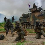 США и Южная Корея начали масштабные военные учения у границ КНДР