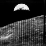 NASA показала первый в истории снимок Земли снятый со стороны Луны (фото)
