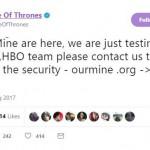 Хакеры взломали соцсети HBO и «Игры Престолов»