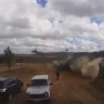 Опубликовано видео из кабины Ка-52, который расстрелял зрителей на «Запад-2017″