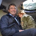 Бывший генсек НАТО посетил Донбасс