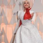 Леди Гага накормила поклонников пиццей