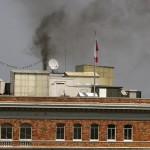 Сжигая секретные документы, российские дипломаты едва не сожгли консульство в США