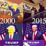 «Симпсоны» не предсказывали победу Трампа в 2000 году