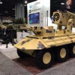 Новая украинская беспилотная бронемашина «Фантом-2″ вызвала фурор на выставке в США