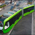 «Транспорт будущего» — Первый в мире безрельсовый электропоезд прошел испытания