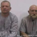 В сети появилось видео захвата двух россиян в Сирии