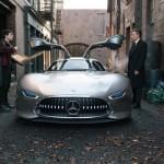 Новой машиной Бэтмена станет суперкар Mercedes-AMG