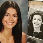 «Как близняшки» — Синди Кроуфорд сравнила свой школьный снимок с фото дочери