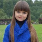 Западные СМИ назвали самой красивой девочкой в мире шестилетнюю Анастасию Князеву