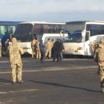 Первый автобус с освобожденными украинскими заложниками Кремля уже на Родине!