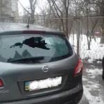В центре Харькова подорвали машину начальника отдела полиции