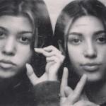 Настоящее лицо — Ким Кардашьян показала редкое фото до пластики