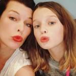 «5 элемент» — дочь Миллы Йовович растет копией своей мамы (фото)