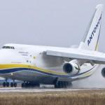 Украинский самолет АН-124 «Руслан» доставляет груз для Space-X