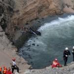 36 человек погибли в результате падения автобуса в пропасть в Перу
