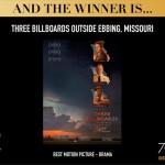«Три билборда» и «Большая маленькая ложь» собрали больше всех «Золотых глобусов»