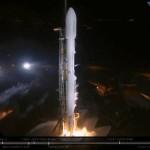 SpaceX произвела первый запуск в 2018 году. На орбиту выведен секретный спутник