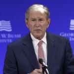 Президент Джордж Буш обвинил РФ во вмешательстве в американские выборы
