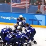 Женская сборная США по хоккею завоевала «золото» на ОИ-2018