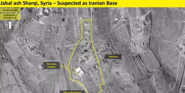 Иран создал новую военную базу ксеверо-западу отДамаска