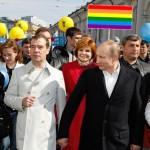 Смольный не разрешил геям выйти на марш в поддержку Путина