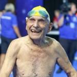 99-летний австралийский пловец установил мировой рекорд