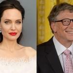 Анджелина Джоли и Билл Гейтс — самые уважаемые знаменитости в мире