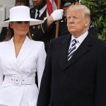 Укрощение строптивой: Дональд Трамп пытался взять Меланию за руку, но та сопротивлялась (фото)