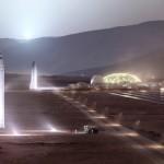 SpaceX строит завод для «марсианской» ракеты (фото)
