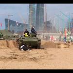 В Петербурге на празднике танком раздавили двух участников (видео)