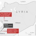CNN выложил спутниковые снимки уничтоженных Коалицией объектов в Сирии