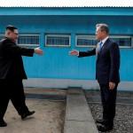 Исторический момент. Ким Чен Ын — первый лидер КНДР, просетывший Южную Корею с 1953 года