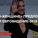 Галь Гадот предложили роль ведущей на песенном конкурсе «Евровидение-2019»