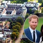 После свадьбы принц Гарри и Меган Маркл переедут в роскошные апартаменты (фото)