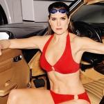 52-летняя Брук Шилдс показала фигуру в бикини в новой рекламной кампании купальников