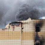 В Кумерово начался снос сгоревшей «Зимней вишни»