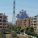 В результате взрывов практически полностью уничтожена российско-сирийская авиабаза (видео)