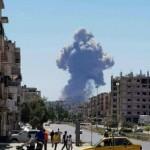 Взорвана российско-сирийская авиабаза в Сирии (фото)