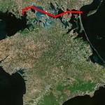 Крымский полуостров может стать островом: «Укргидропроект» рассматривает проект строительства Черноморско-Азовского канала